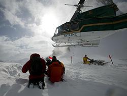 Skyline Helicopters heli skiing holidays hydro forestry tours Kelowna Terrace BC Heliskiing