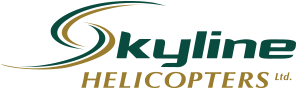 Skyline Helicopters heli skiing holidays hydro forestry tours Kelowna Terrace BC Logo